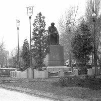 Воронеж 1957. Памятник Никитину. :: Олег Афанасьевич Сергеев