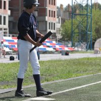 Успех в бейсболе в большей степени зависит от биты... :: Вячеслав