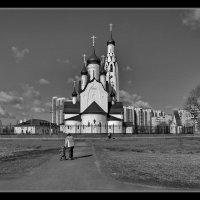 дорога к храму :: Святослав Лебедев