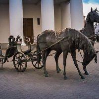 Скульптура «Экипаж губернатора Захария Корнеева». :: Nonna