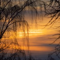 Красочный закат :: Дмитрий Николаев