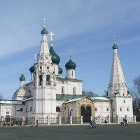 Церковь Ильи Пророка(Ярославль) :: Anton Сараев
