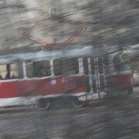 Обезумевший трамвай :: Анатолий Бастунский