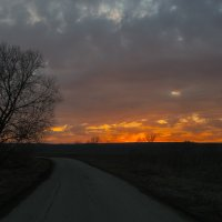 Пылающий горизонт :: Юрий Клишин