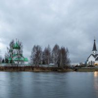 Две церкви :: Алексей Кудрявцев