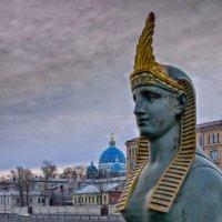 У Египетского моста :: Владимир Горубин