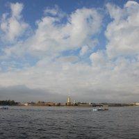 облака над городом :: Наталья