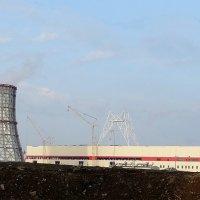 ТЭЦ - дает людям электричество,пар,воду :: Владимир Гилясев
