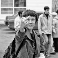 привет фотографу от благодарных зрителей :: Сергей Демянюк