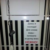 Использование грубой силы в туалете строго запрещено!!! :: Михаил Чумаков