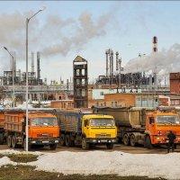 Будни нефтехимии :: Любовь Потеряхина