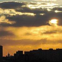 Московское небо (вид с балкона). :: Геннадий Александрович