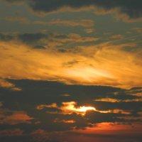 Закат на аэродроме! :: Viktoriya Savostyanova