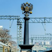 Москва – Владивосток: 9288 км. :: Александр Морозов