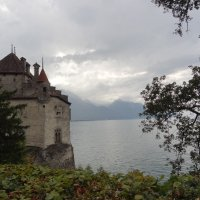 Моя любовь - Chateau de Chillon :: Sasha Berg