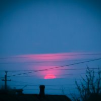 Городской закат :: Светлана Шаповалова