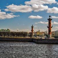 Стрелка под облаками :: Valerii Ivanov