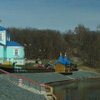 мужской монастырь в поселке Свобода :: Алёна ChevyCherry