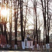 Вербное воскресенье. 2014 г. (на вечернем Богослужении и после него). :: Геннадий Александрович