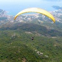 Будванская ривьера с высота птичьего полета. Черногория :: Anna Lipatova