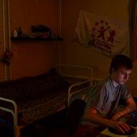 Ночь в общаге :: Александр Марков