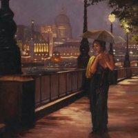 прогулка по ночному городу :: светлана