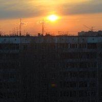 городской закат :: Антон Бояркеев