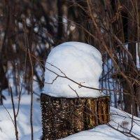 Шапки из натурального снега. Распродажа :: игорь щелкалин