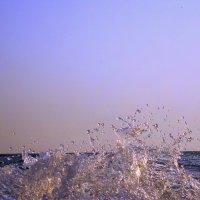 Разбившаяся волна. :: Григорий Антонов