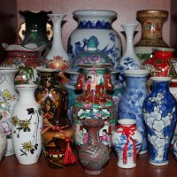 Вазы, вазочки, кувшины.... :: Людмила Жданова