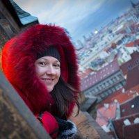 над крышами Праги :: Эльмира Суворова