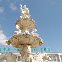 "Верхушка фонтана в парке львов ""Тайган"" :: Ирина Лапина"