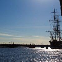 Место первого порта в Санкт-Петербурге :: Александр Тырлов