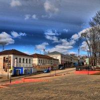 площадь Партизан,города Руза :: Андрей Куприянов