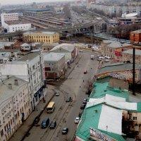 Нижний Новгород с высоты. Улица Советская (в сторону Московского вокзала). :: Павел Зюзин