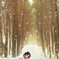 в зимнем лесу :: Дмитрий Бегма