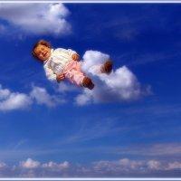 Весна..!!!   Облака, белокрылые лошадки..! :: Детский и семейный фотограф Владимир Кот