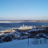 Зимний пейзаж :: Евгений Кочетков