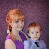 Лена с сыном :: Евгения Чернова
