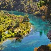 Прозрачная река :: Irina M K