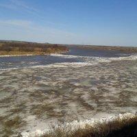 Ледоход на реке Вятке :: Александр Половников