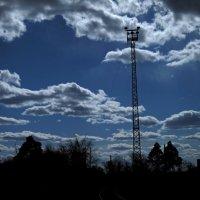 Апрельское небо :: Павел Зюзин