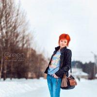 Морозоустойчивая модница :D :: Николай Гагаринов