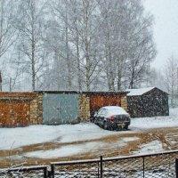 23 апреля. Зима среди весны :: Валерий Симонов