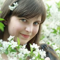 Вишневый портрет :: Minerva. Светлана Косенко