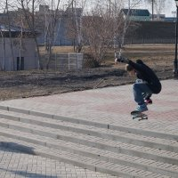 Прыжок-2 :: Наталья Колоколова