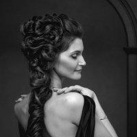 портрет девушки в чб :: Алексей Тарабрин