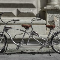 Двойная велозаманушка :: Виктор