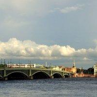 тучи над городом встали..... :: Сергей Розанов