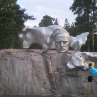 Парк Яна Сибелиуса .Хельсинки. :: Мила